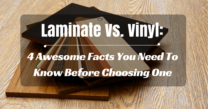 laminate vs vinyl 4 awesome facts you need to know before choosing one. Black Bedroom Furniture Sets. Home Design Ideas