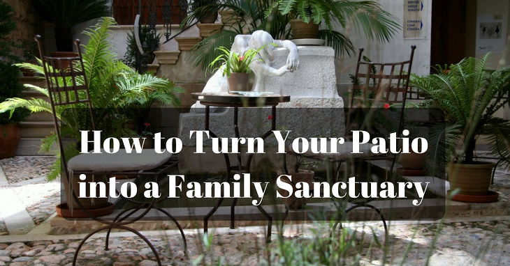 How to Turn Your Patio