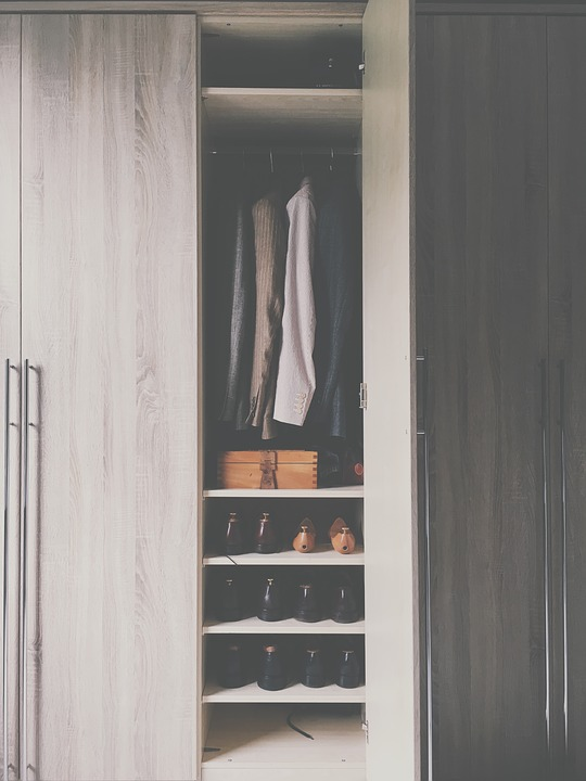 Mess-free organized closet ideas