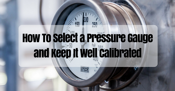 how to select a pressure gauge