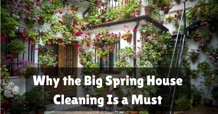 spring house cleaning