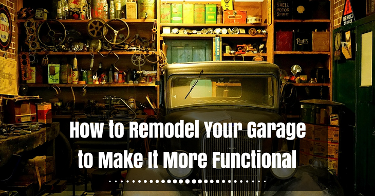how to remodel your garage