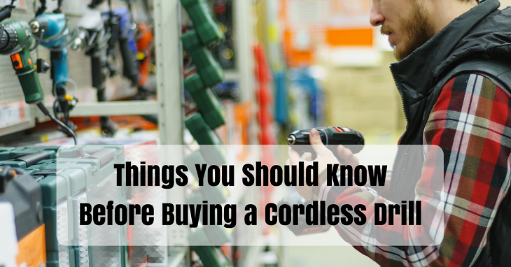 buying a cordless drill