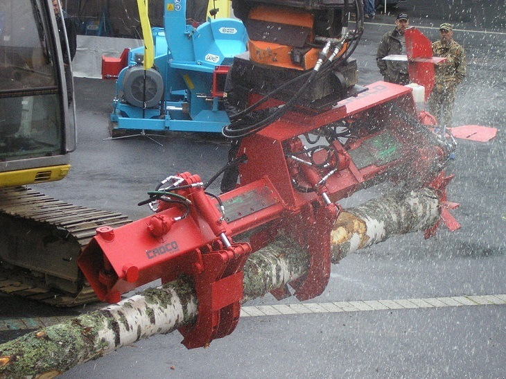 Electric Log Splitter for Home Usage