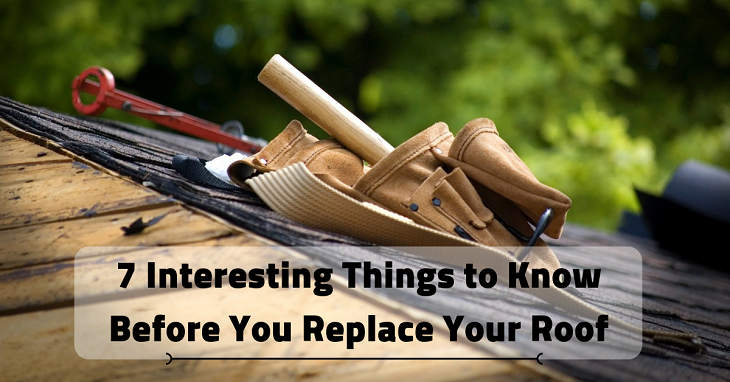 Things to Know Before You Replace Your Roof