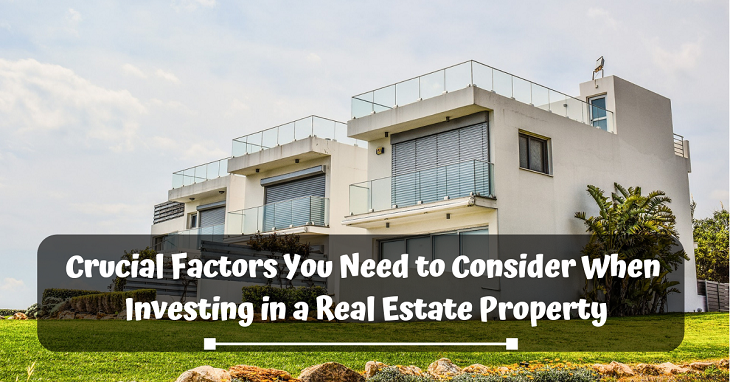 investing in a real estate property