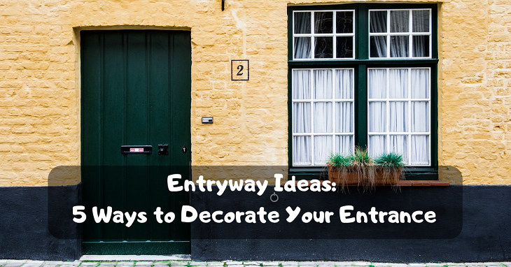 decorate your entrance