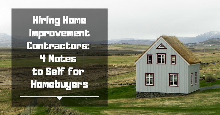 Hiring Home Improvement Contractors