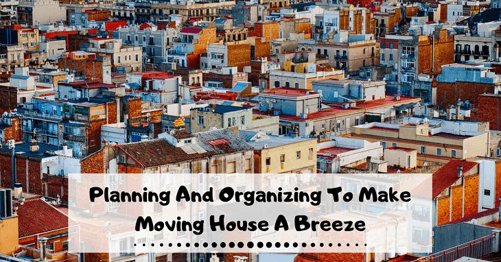 Organizing To Make Moving House