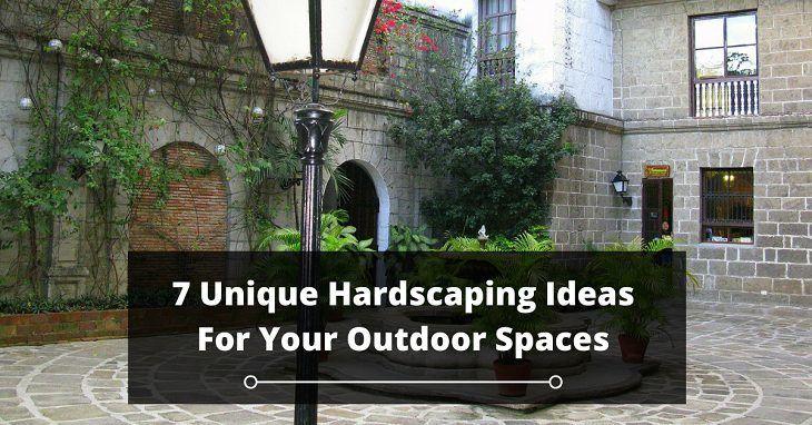 Unique Hardscaping Ideas