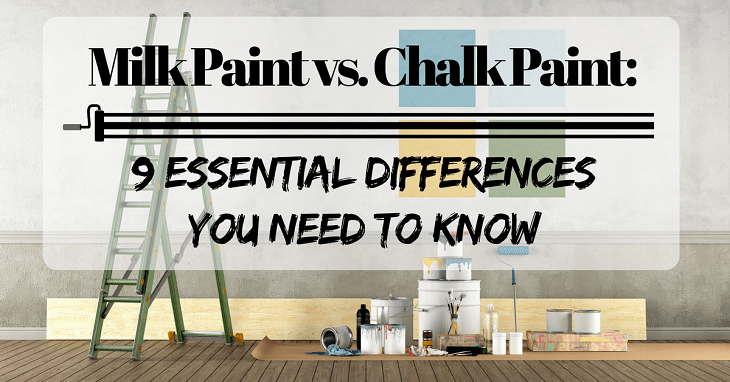 Difference Between Chalk Paint Vs Milk Paint