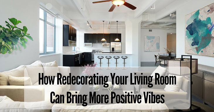 How redecorating your living room can bring more positive for Redecorating living room ideas